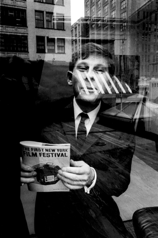 Roman Polanski in 1963 at the first New York Film Festival, where he screened 'Knife in the Water'