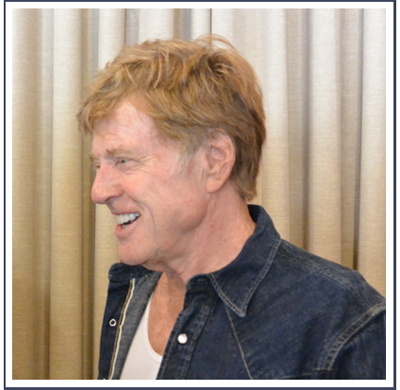 Still smiling and enthusiastic: Robert Redford at the 30th anniversary kickoff for his assembly of independent filmmakers.
