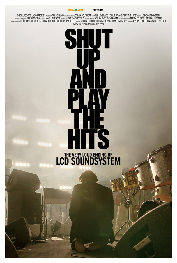 Shut up and play the hits, poster