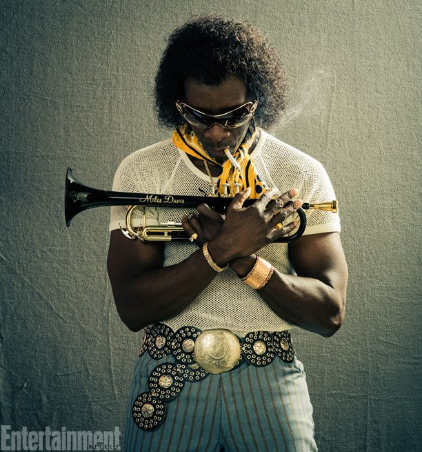 Don Cheadle as Miles Davis