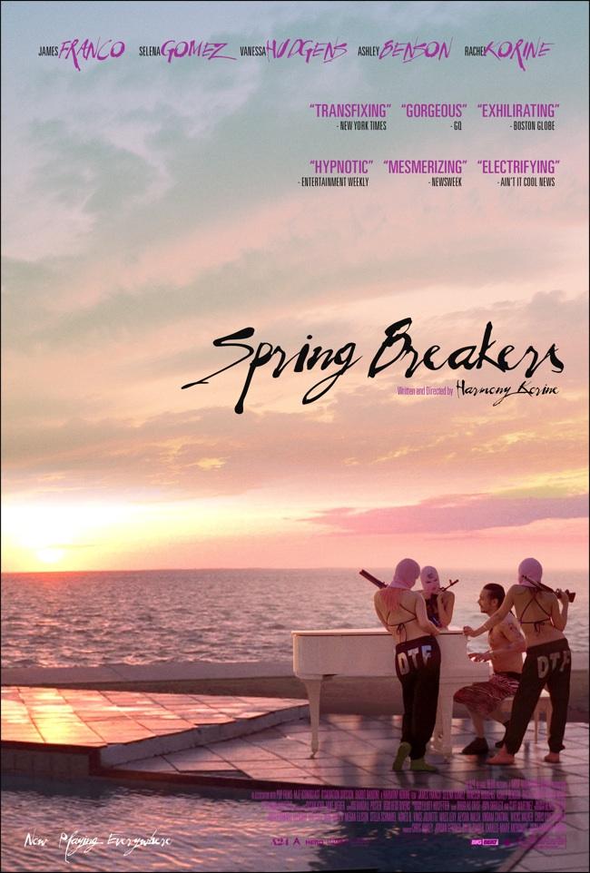 Spring Breakers Britney poster