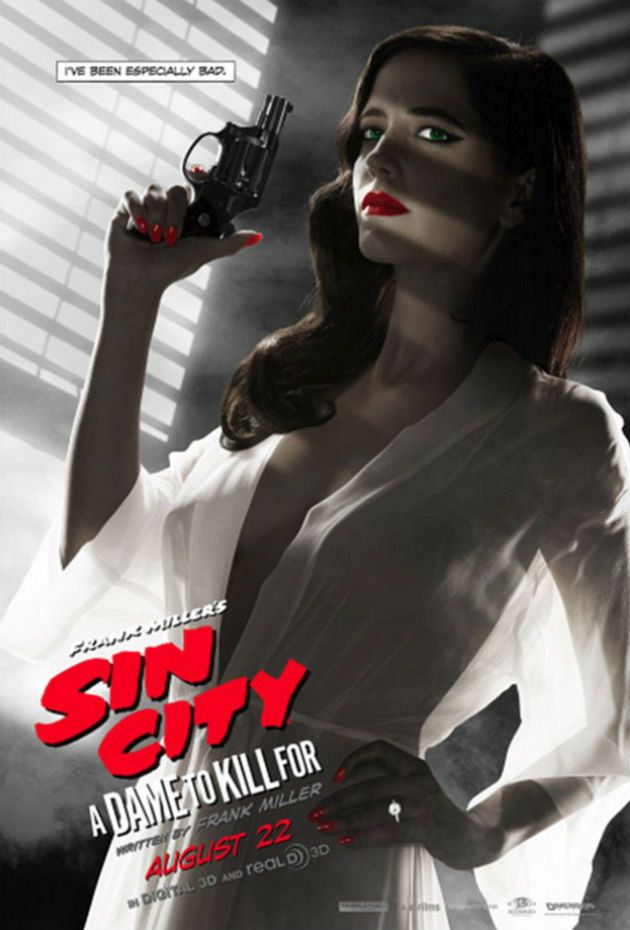 Sin City: A Dame To Kill For Edited Poster