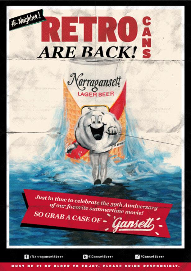 Narragansett Beer Poster