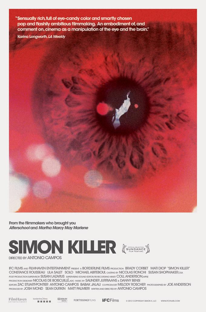 Simon Killer, poster