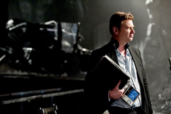 The Dark Knight Rises Christopher Nolan set photo skip crop