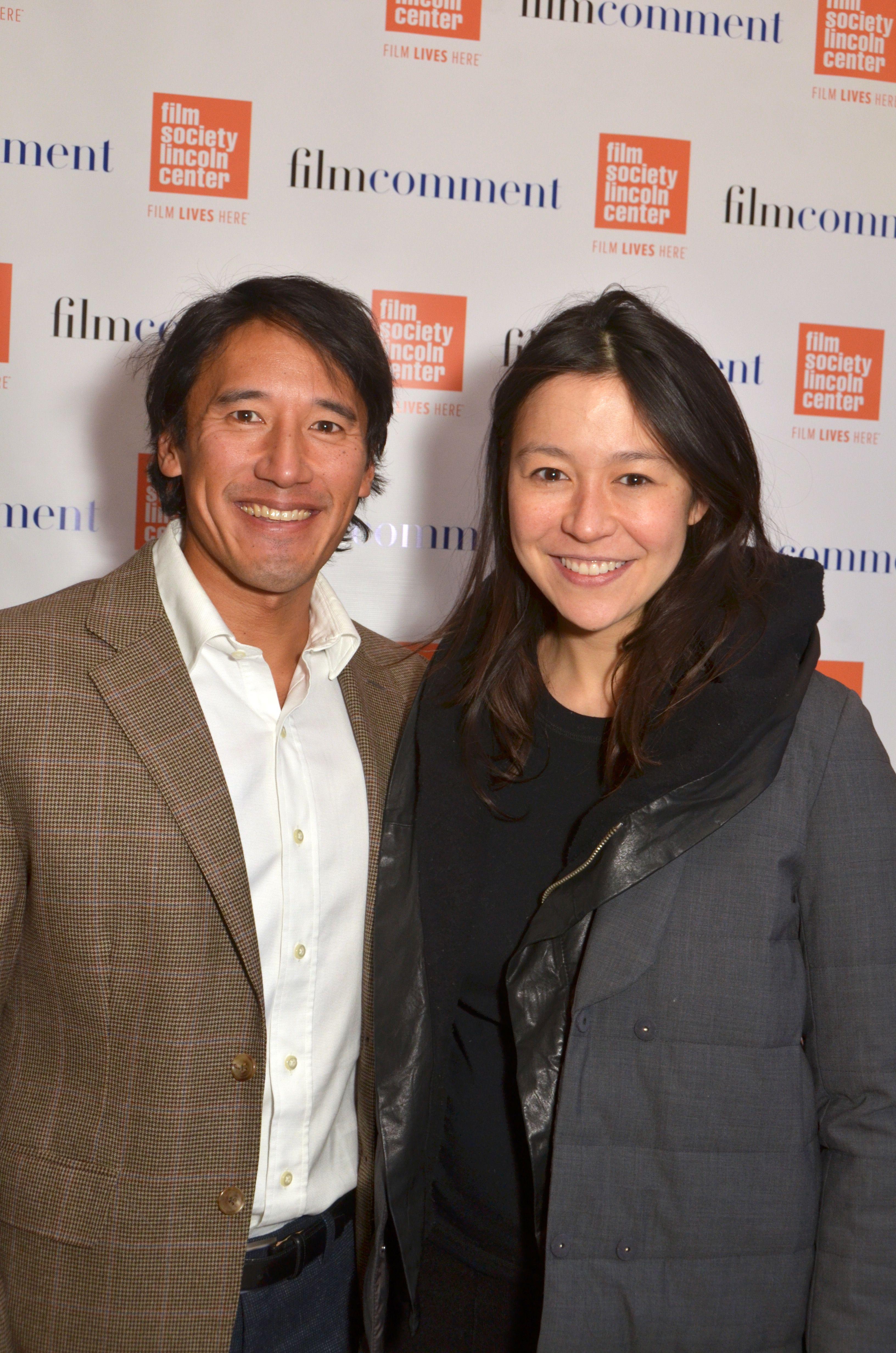 """Meru"" directors Jimmy Chin and Elizabeth Chai Vasarhelyi"