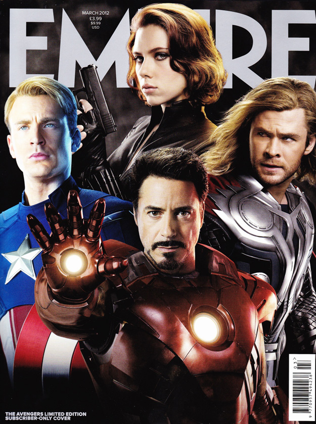 The Avengers Empire Cover Group