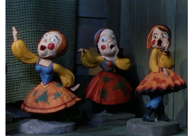 "Animated puppets come to life in ""Gypsy Night"" (1935)"