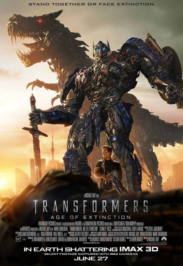 'Transformers: Age Of Extinction, poster