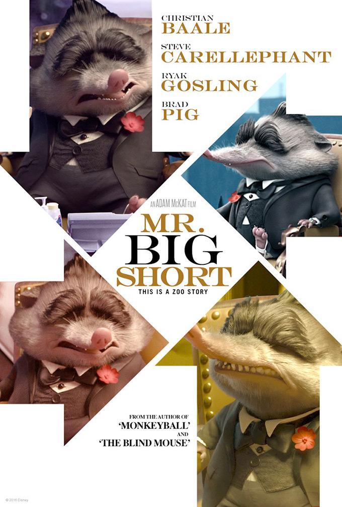 Zootopia Oscar Poster