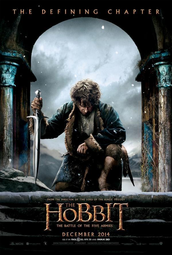 The Hobbit, Five Armies, poster