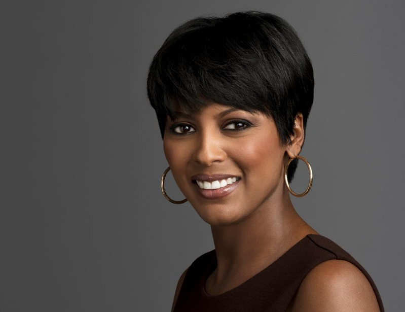 Tamron Hall earned a  million dollar salary, leaving the net worth at 3 million in 2017