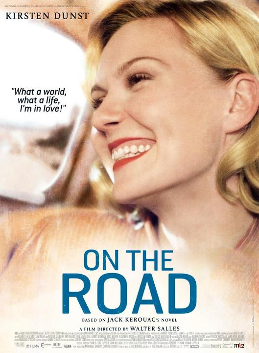On The Road Kirsten Dunst Poster