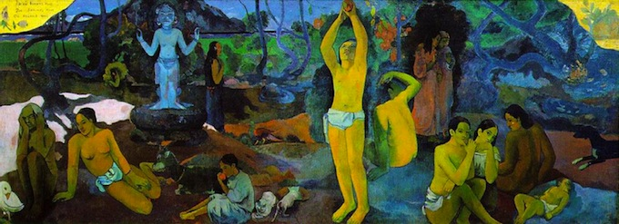 Gauguin's Where Do We Come From?