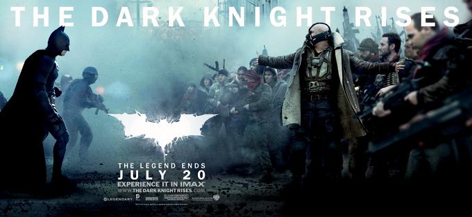 The Dark Knight Rises Banner Come At Me Bro