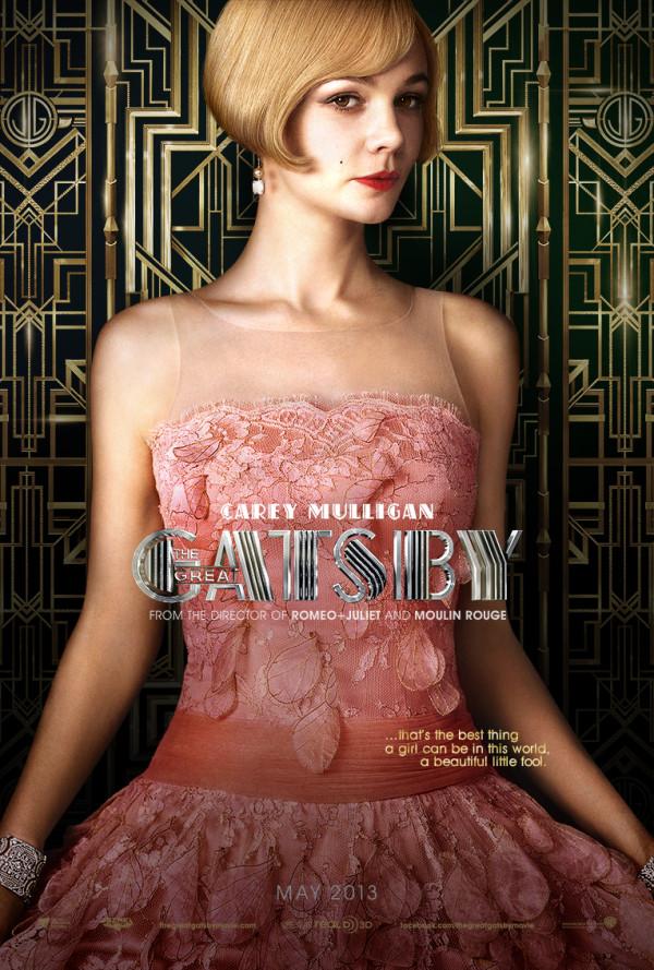 Carey Mulligan, Gatsby poster (skip)