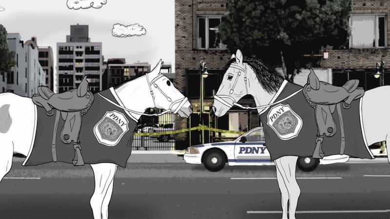 """""""Animals."""" Season 1 HBO horses"""