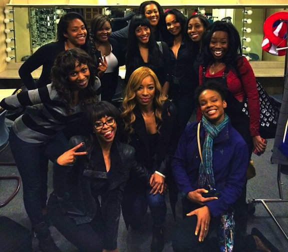 The black comediennes who auditioned for 'SNL' in LA; from @GabrielleDennis
