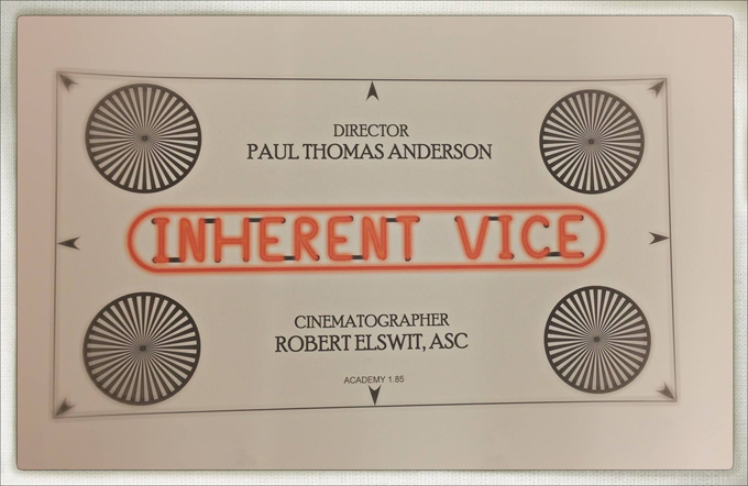 Inherent Vice Chart