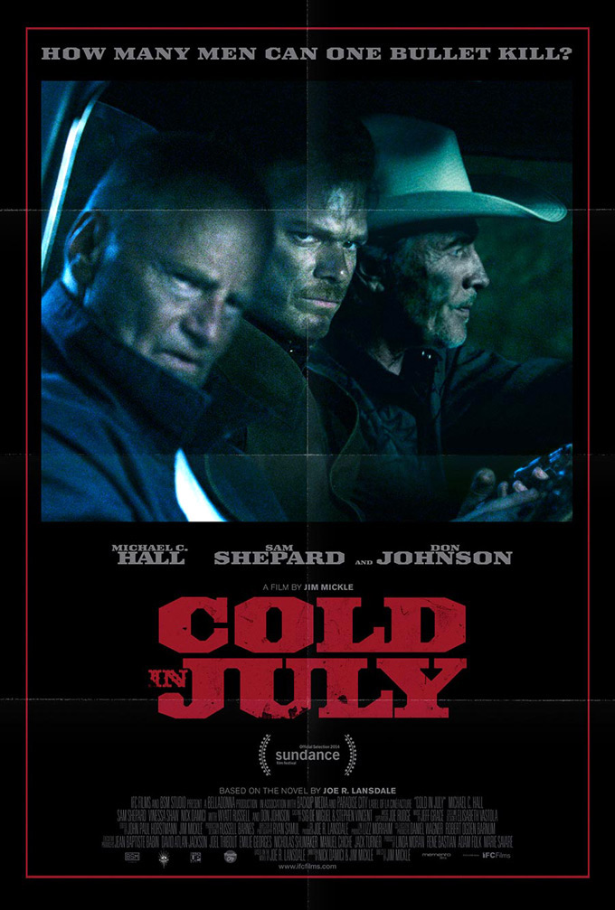 Cold In July, poster