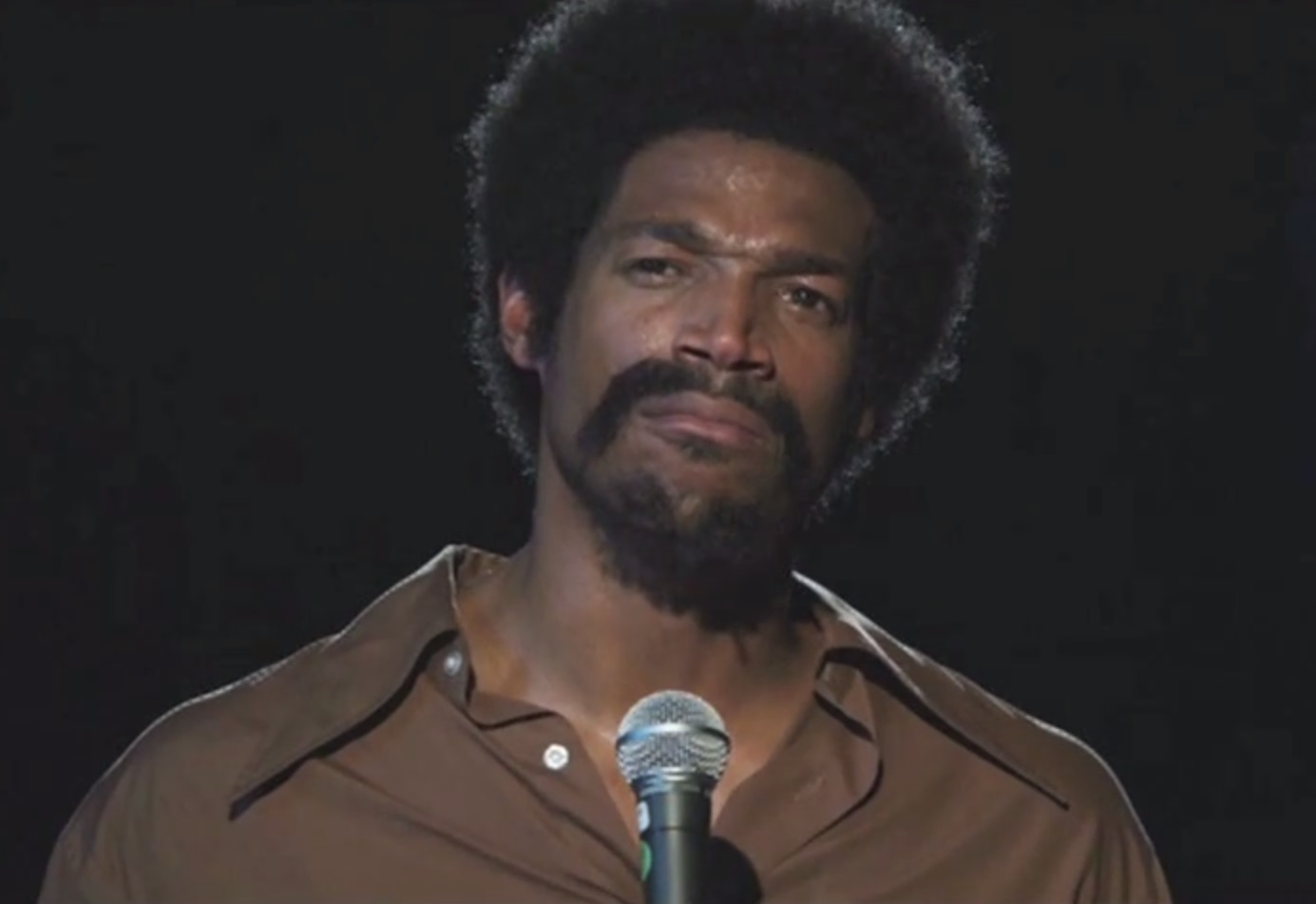 Marlon Wayans as Richard Pryor - Still from audition footage