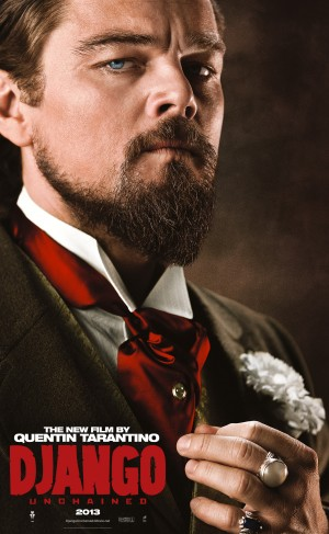Django Unchained, Leonardo DiCaprio character poster