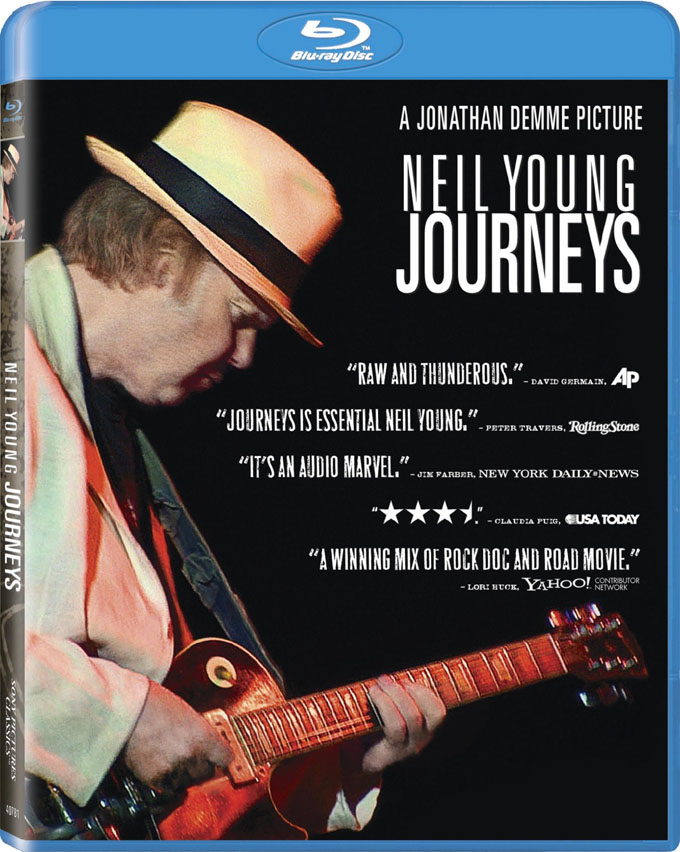 Neil Young Journeys Blu