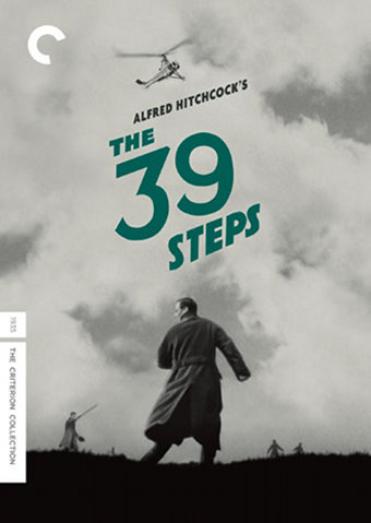 The 39 Steps DVD Cover