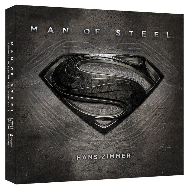 Man Of Steel Soundtrack Artwork
