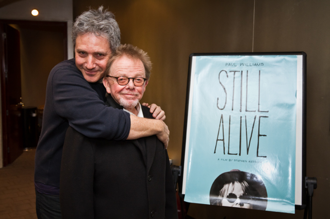 'Still Alive' Director Stephen Kessler and Paul Williams