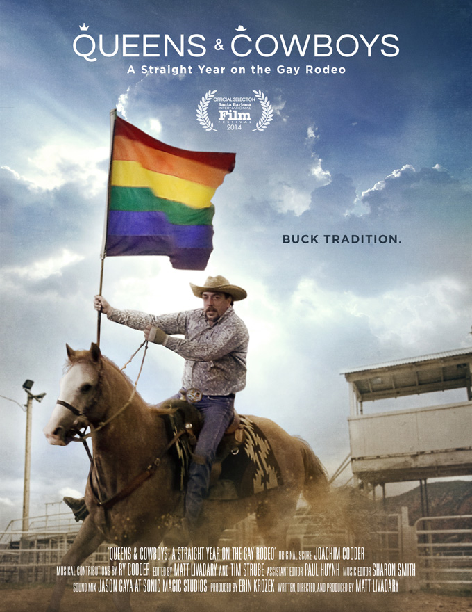 Queens & Cowboy: A Straight Year on the Gay Rodeo Poster