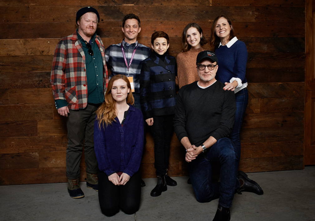 """Other People"" - Jesse Plemons, Madisen Beaty, Chris Kelly, JJ Totah, Maude Apatow, Bradley Whitford and Molly Shannon"