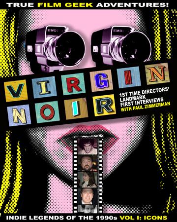 """""""Virgin Noir"""" book cover"""