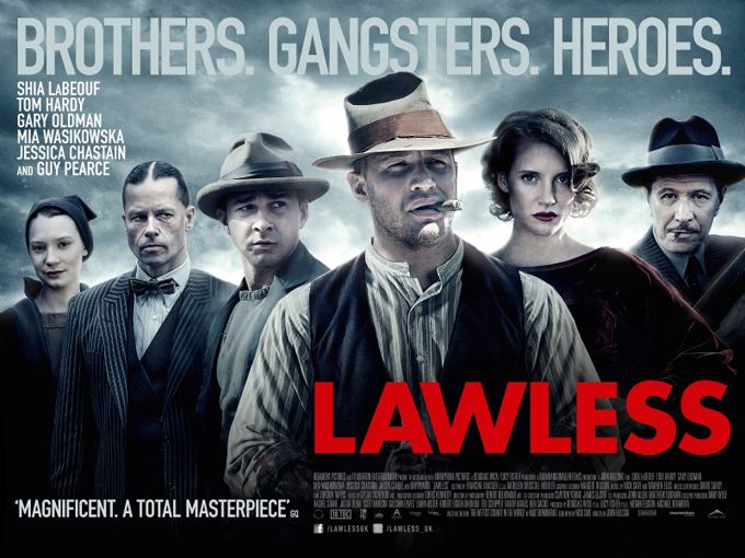 Lawless, UK quad poster