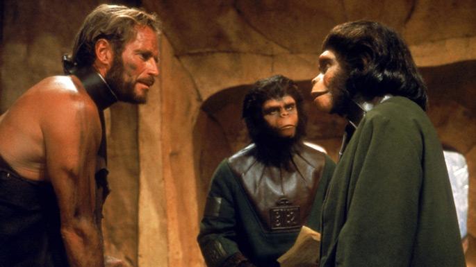 Resultado de imagem para planet of the apes 1968