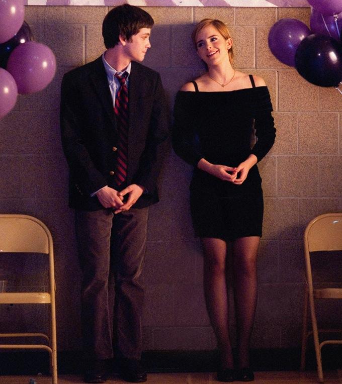 Perks Of Being A Wallflower Logan Lerman Emma Watson skip crop