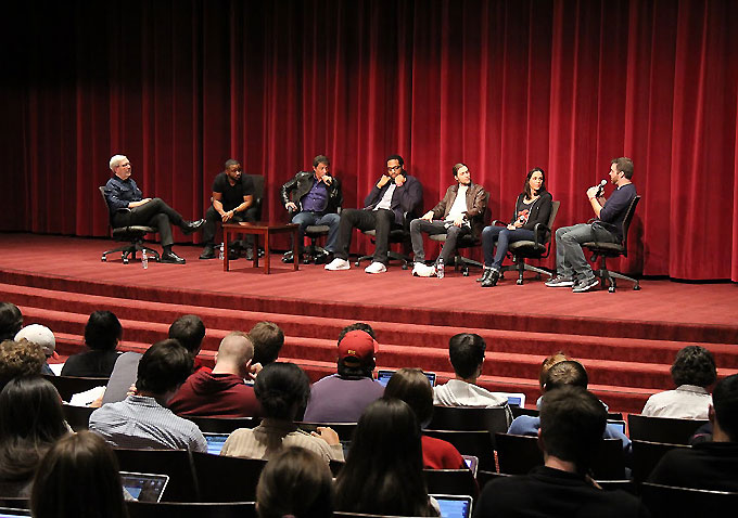 Creed Panel at USC - Coogler-Stallone-Leonard Maltin