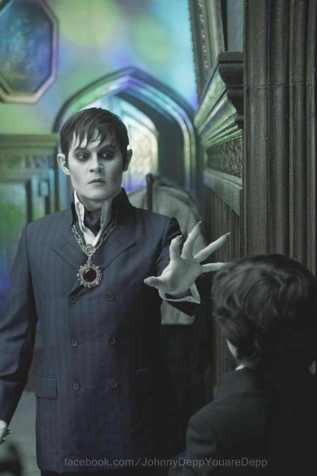 Johnny Depp Dark Shadows vertical