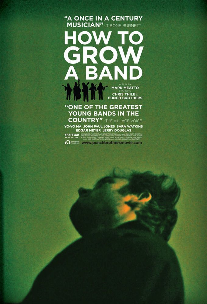 How To Grow A Band Poster