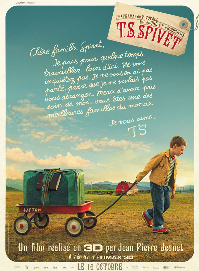 The Young And Prodigious Spivet Poster