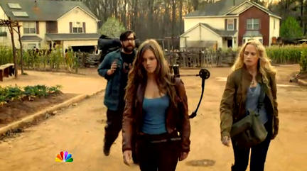 REVOLUTION - Charlie, Aaron, Maggie screenshot