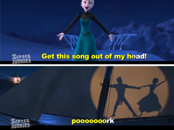"From ""Honest Trailers: Frozen"""