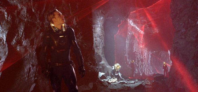 Prometheus, Michael Fassbender skip crop