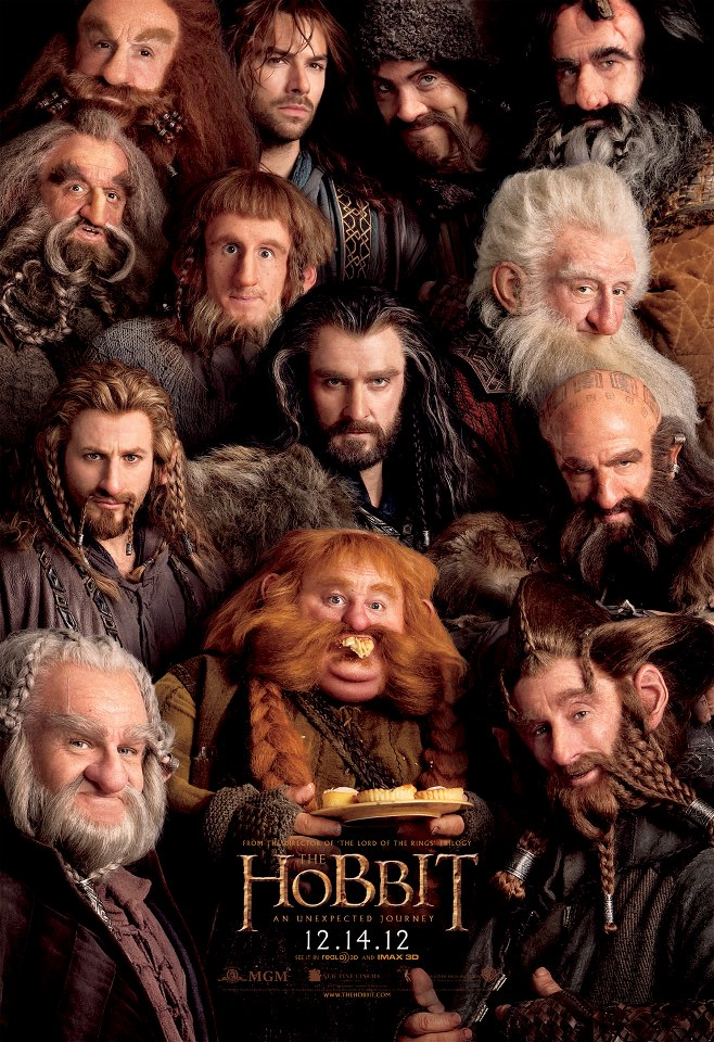 The Hobbit poster, skip crop
