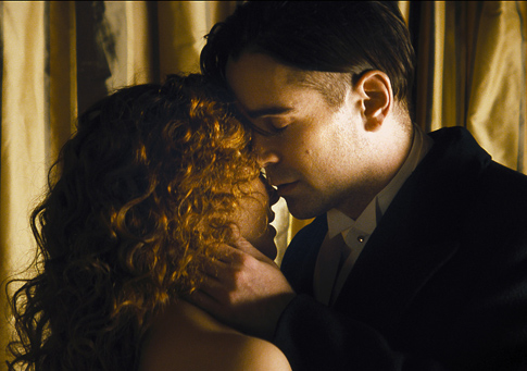 Jessica Brown-Findlay-Colin Farrell