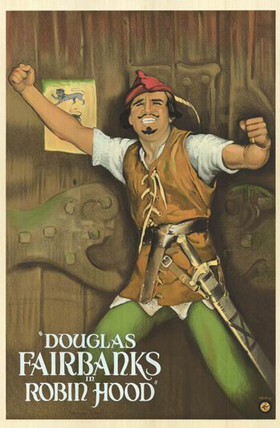 Douglas Fairbanks is Robin Hood
