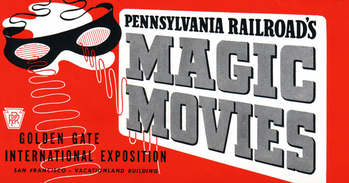 3-D Penn RR Magic Movies