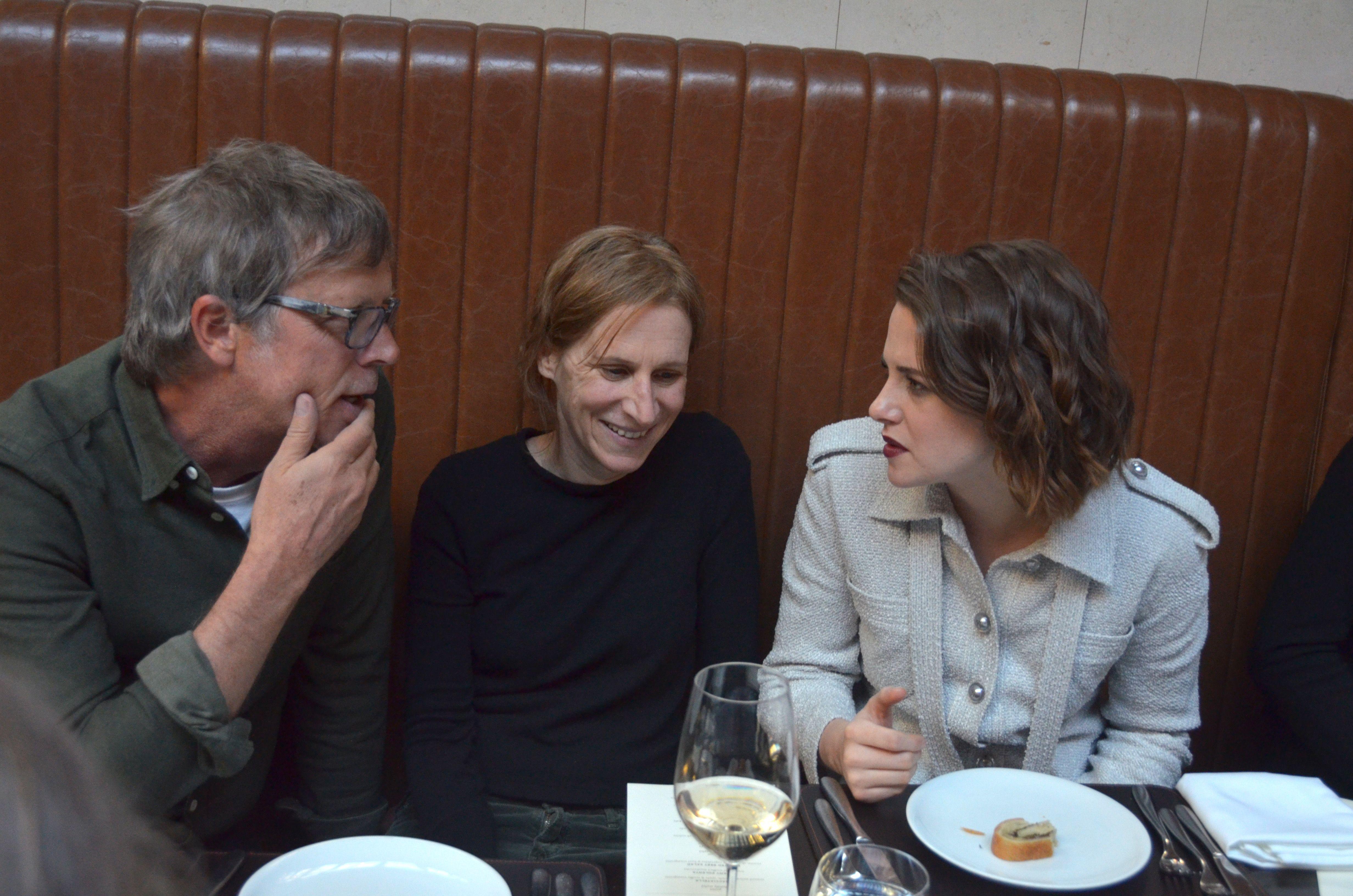 Todd Haynes, Kelly Reichardt and Kristen Stewart
