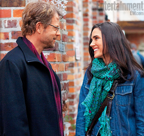 Writers Greg Kinnear Jennifer Connelly skip crop