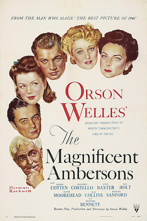 Magnificent Ambersons poster